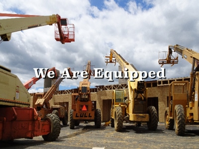 Menhardt Construction Wood Framing Contractors in PA, NJ, and DE have all the necessary equipment