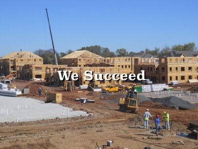 Menhardt Construction Wood Framing Contractors in PA, NJ, and DE complete large jobs on time
